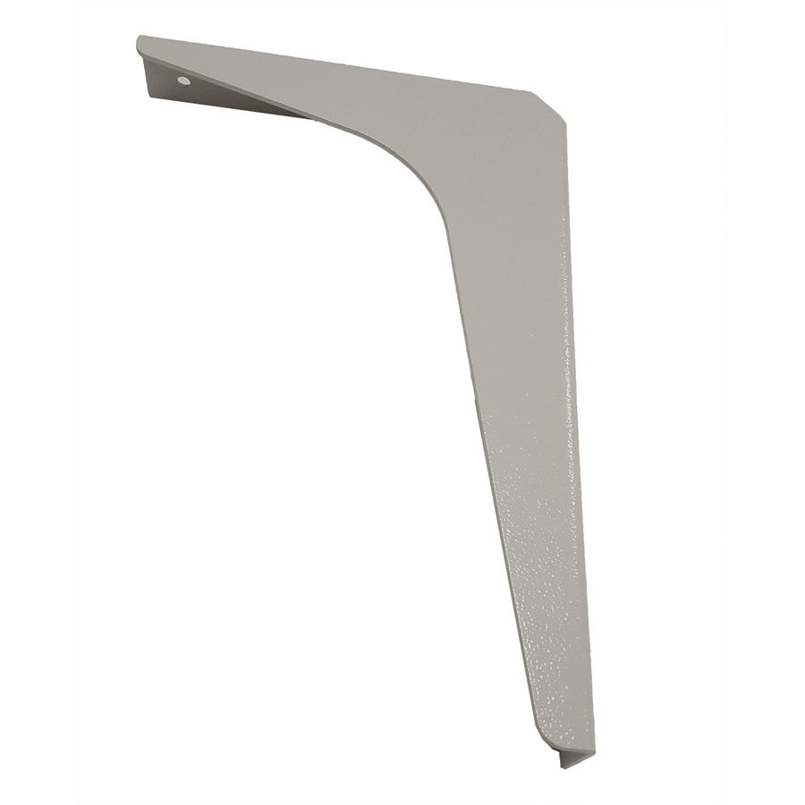 CounterBalance Workstation Bracket 12-in x 1.54-in x 18-in Coated Countertop Support Bracket