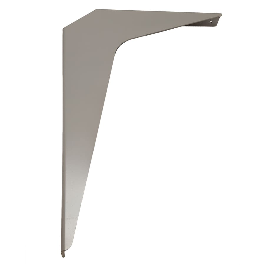 CounterBalance Workstation Bracket 15-in x 1.54-in x 21-in Primed Countertop Support Bracket