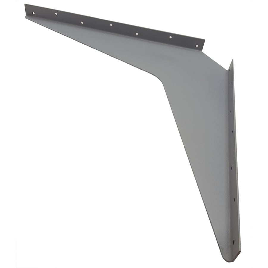 CounterBalance Workstation Bracket 24-in x 1.54-in x 24-in Coated Countertop Support Bracket