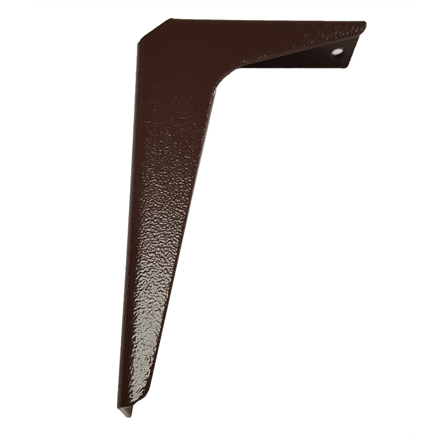 CounterBalance Workstation Bracket 8-in x 1.54-in x 12-in Brown Countertop Support Bracket