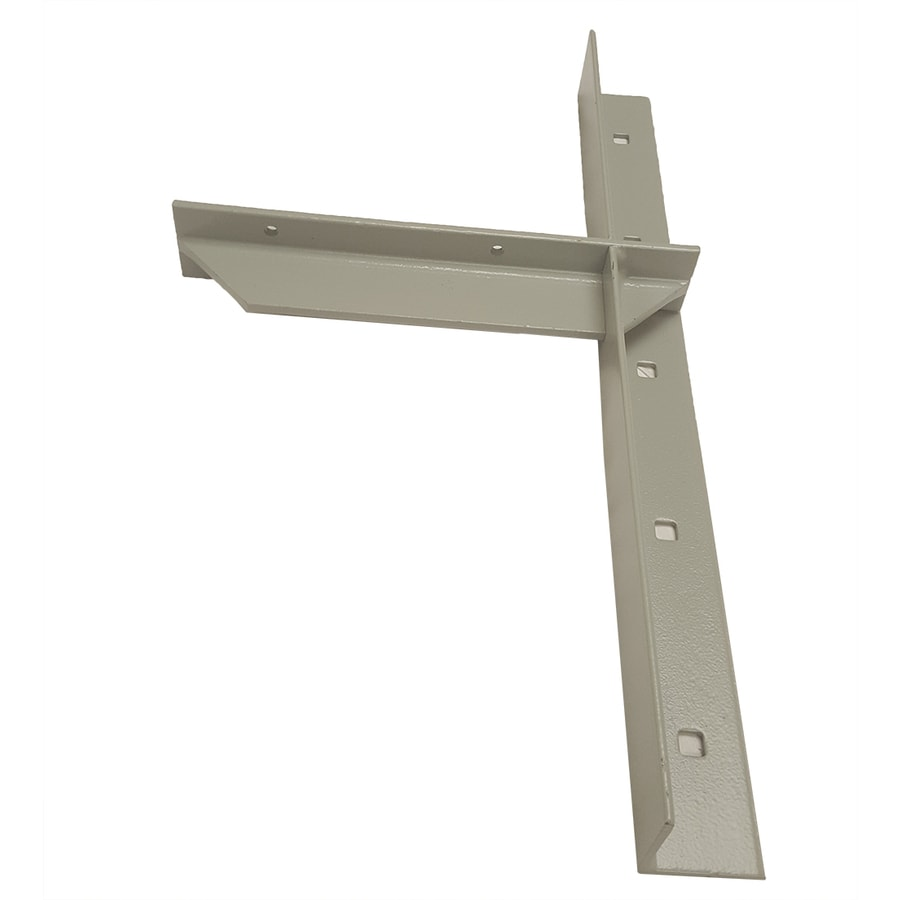 CounterBalance Extended Concealed Bracket 20-in x 2-in x 11-in Coated Countertop Support Bracket