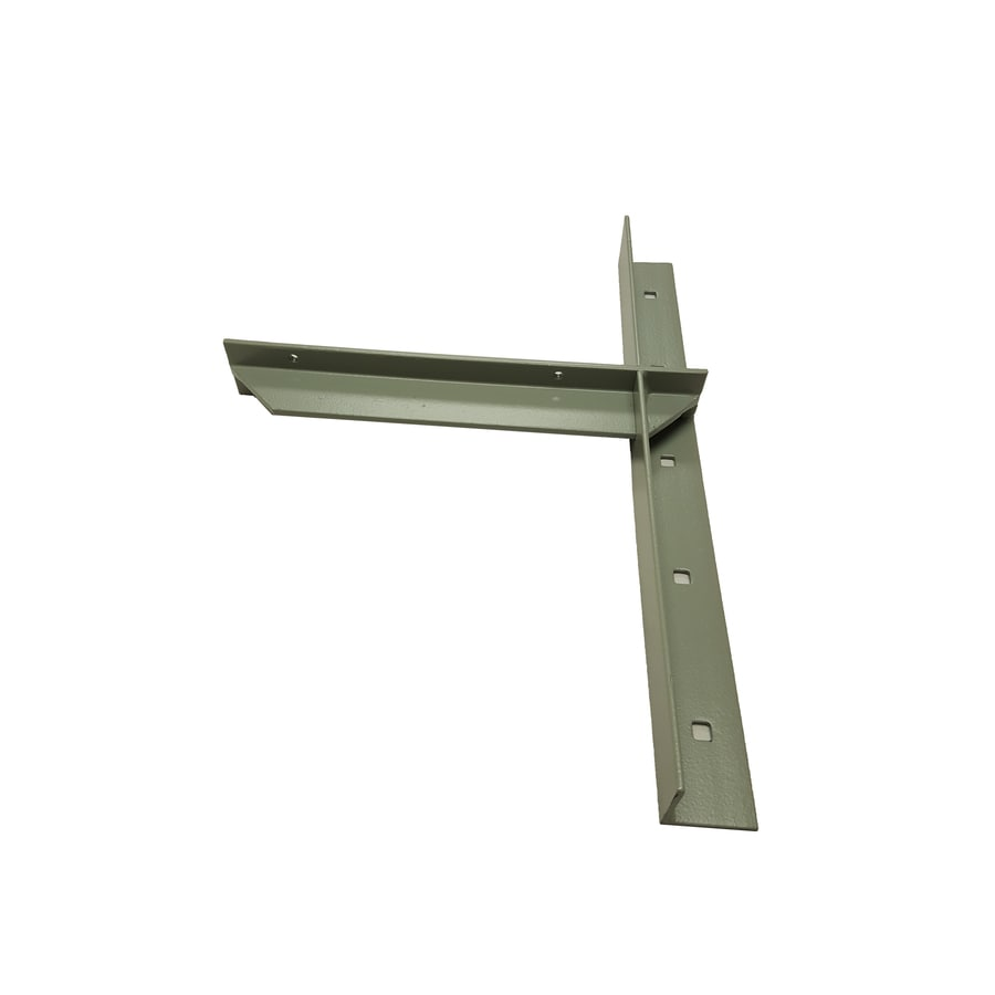 CounterBalance Extended Concealed Bracket 20-in x 2-in x 14-in Coated Countertop Support Bracket