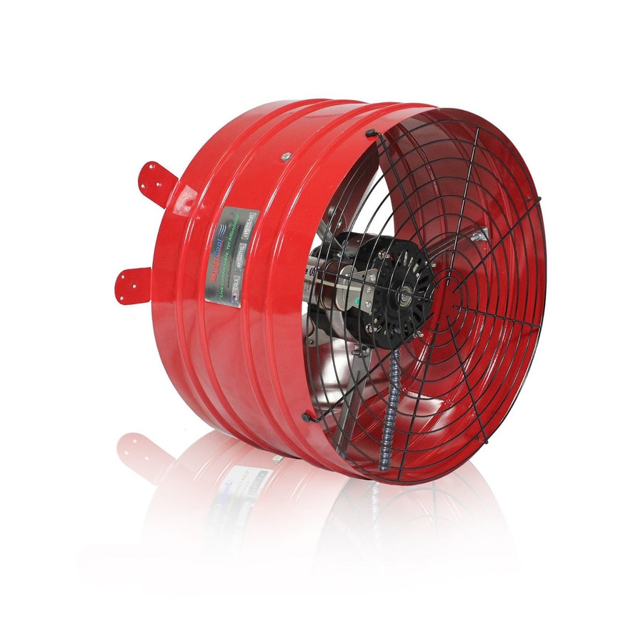 Quietcool Specialty 16 In Dia Electric Gable Vent Fan