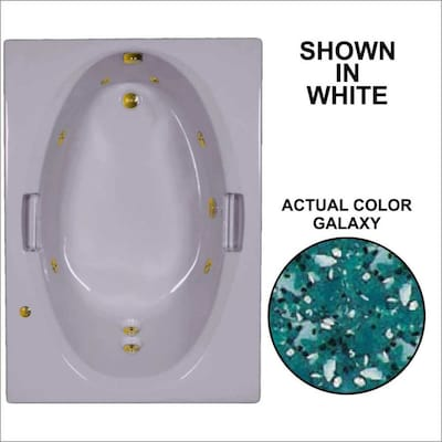 Swell Watertech Whirlpool Baths 59 75 In Galaxy Acrylic Drop In Theyellowbook Wood Chair Design Ideas Theyellowbookinfo
