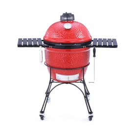 Kamado Joe Classic Joe 18-in Red Kamado Charcoal Grill