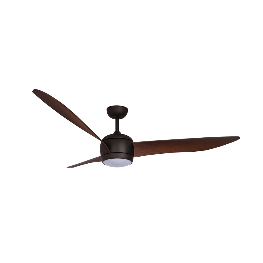 Lucci Air Nordic 56 In Oil Rubbed Bronze Indoor Ceiling Fan With Light And Remote 3 Blade In The Ceiling Fans Department At Lowes Com