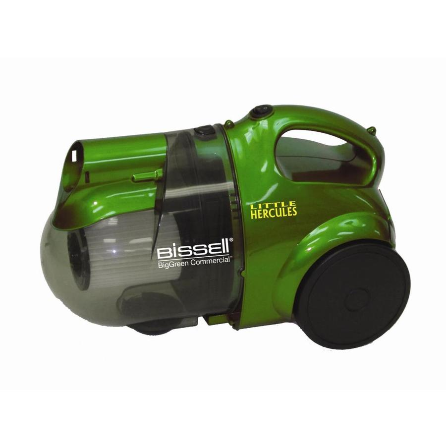 BISSELL Big Green Commercial Little Hercules Bagless Canister Vacuum
