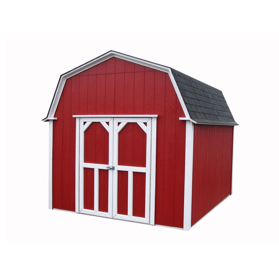 Better Built Barns Country Gambrel Wood Storage Shed Interior Dimensions 9 417 Ft