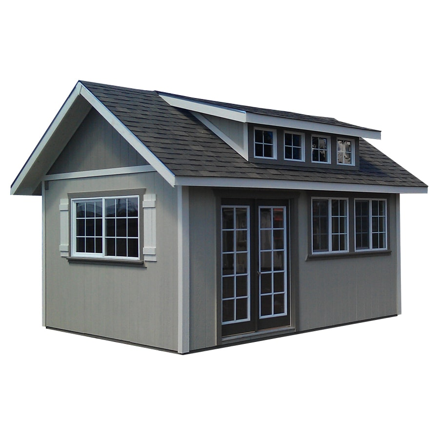 Better Built Barns 8 Ft X 12 Ft Gable Engineered Wood Storage Shed (