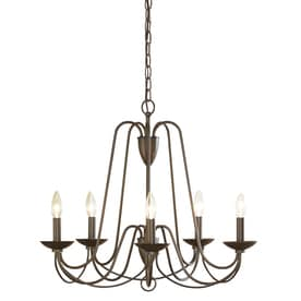 Allen Roth Wintonburg 2425 In Aged Bronze Williamsburg Candle Chandelier