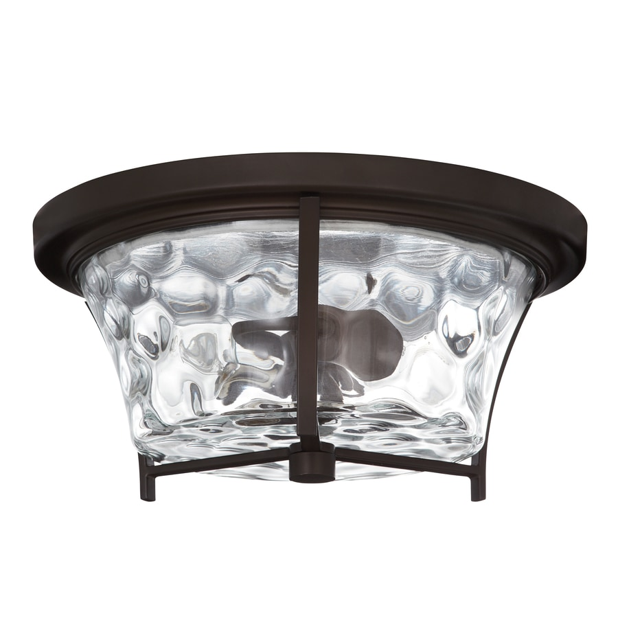 Shop flush mount lighting at lowes allen roth latchbury 1402 in w flush mount light arubaitofo Images