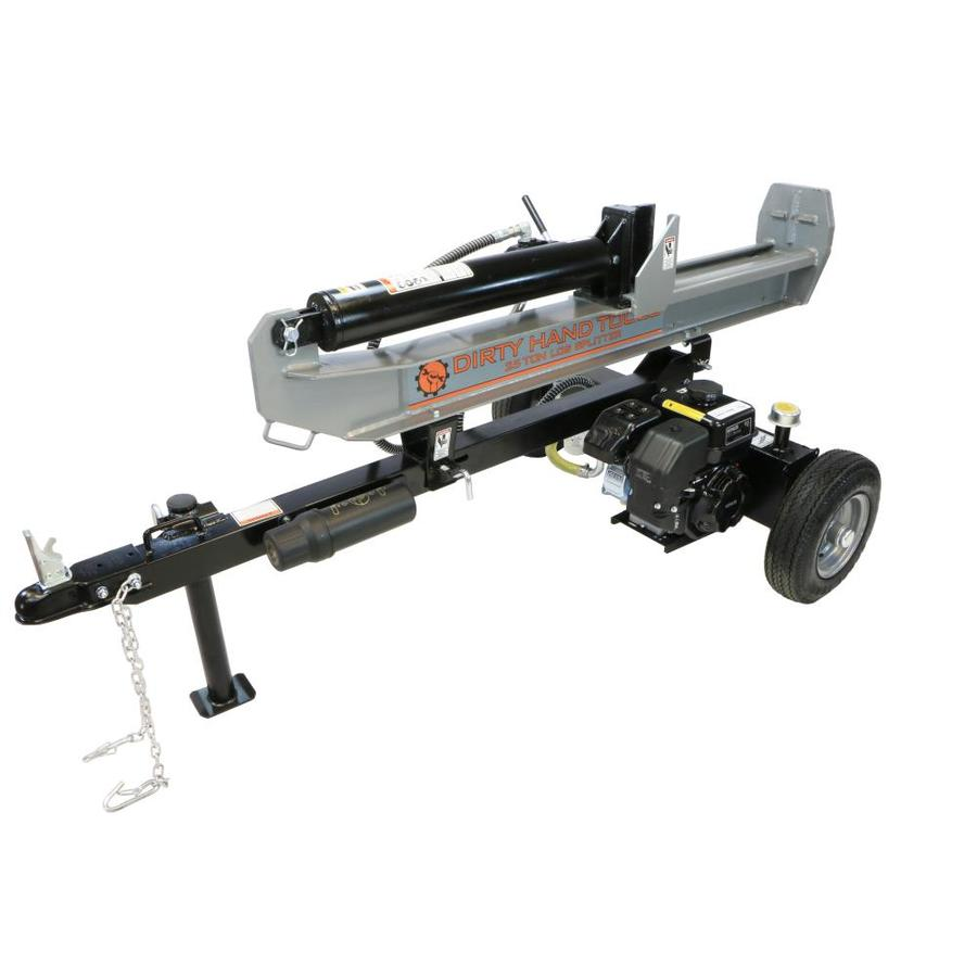 Shop log splitters at lowes dirty hand tools 25 ton gas log splitter sciox Gallery