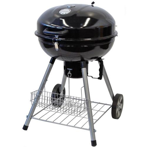 The Original Outdoor Cooker 22.4-in Black Kettle Charcoal ...