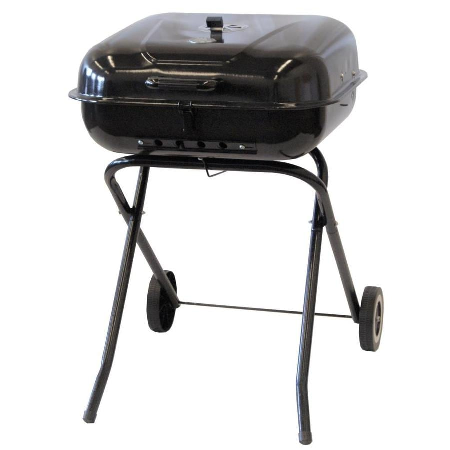 The Original Outdoor Cooker 21.5-in Black Charcoal Grill