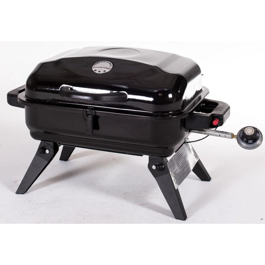 The Original Outdoor Cooker Black  Sq In Portable Gas Grill