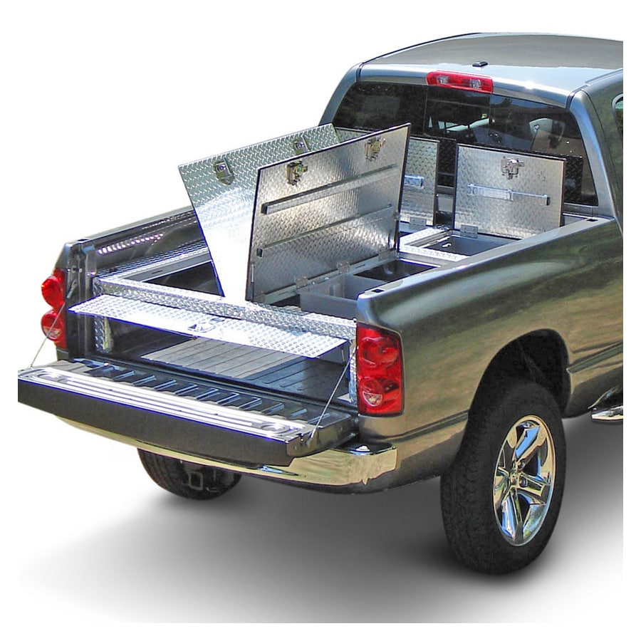 DAMAR TruckDeck Toyota Tundra 01u0027 - 06u0027 60.25  Bed Truck Tool Box  sc 1 st  Loweu0027s & Shop DAMAR TruckDeck Toyota Tundra 01u0027 - 06u0027 60.25