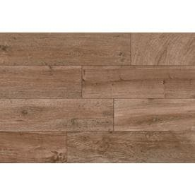 Style Selections Woods Natural 6 In X 24 Porcelain Wood Look Farmhouse Floor