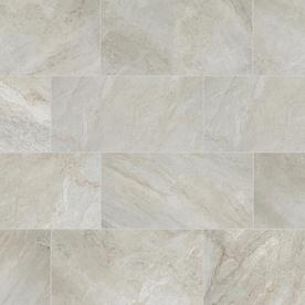 Style Selections Classico Taupe Porcelain Floor and Wall Tile (Common: 12-in x 24-in; Actual: 11.81-in x 23.62-in)