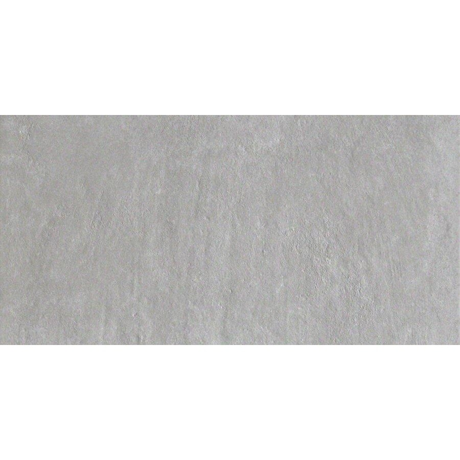 Style Selections Cityside Gray Porcelain Floor and Wall Tile (Common: 12-in x 24-in; Actual: 11.81-in x 23.62-in)