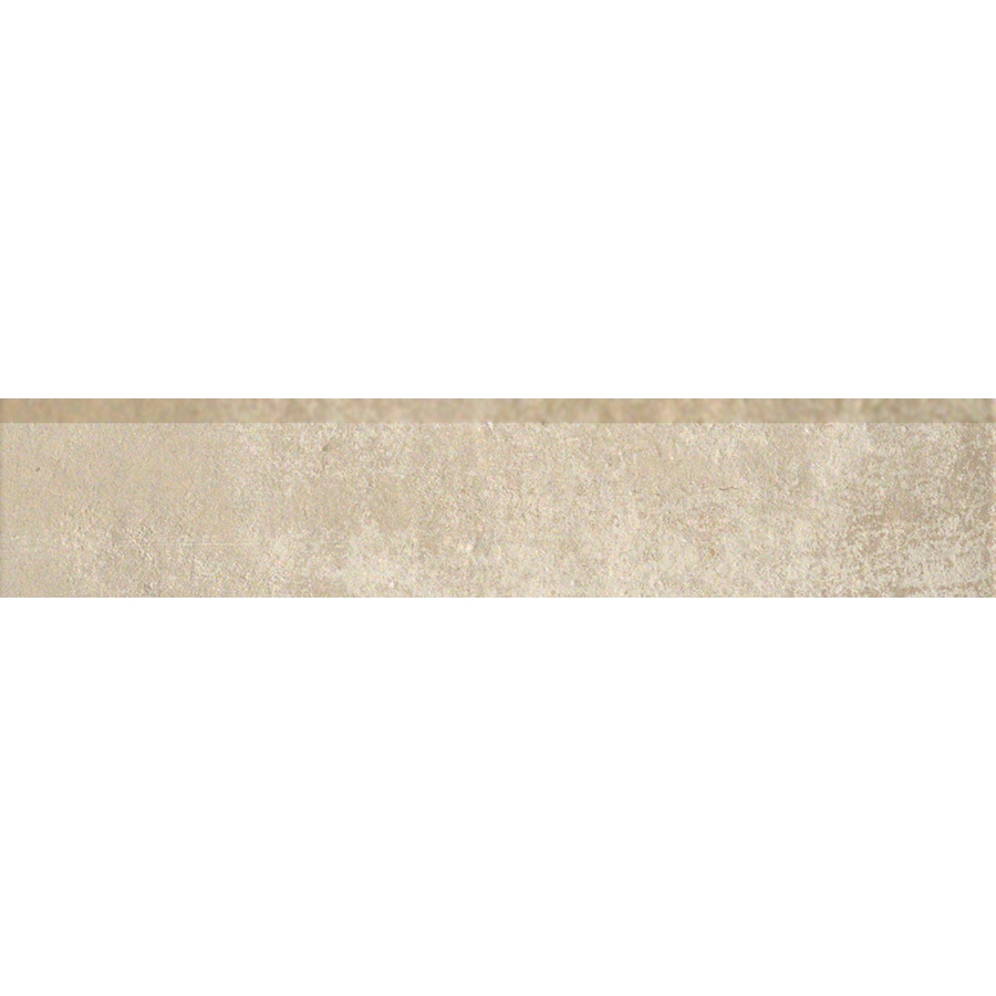 Style Selections Cityside Beige Porcelain Bullnose Tile (Common: 3-in x 12-in; Actual: 11.76-in x 2.76-in)