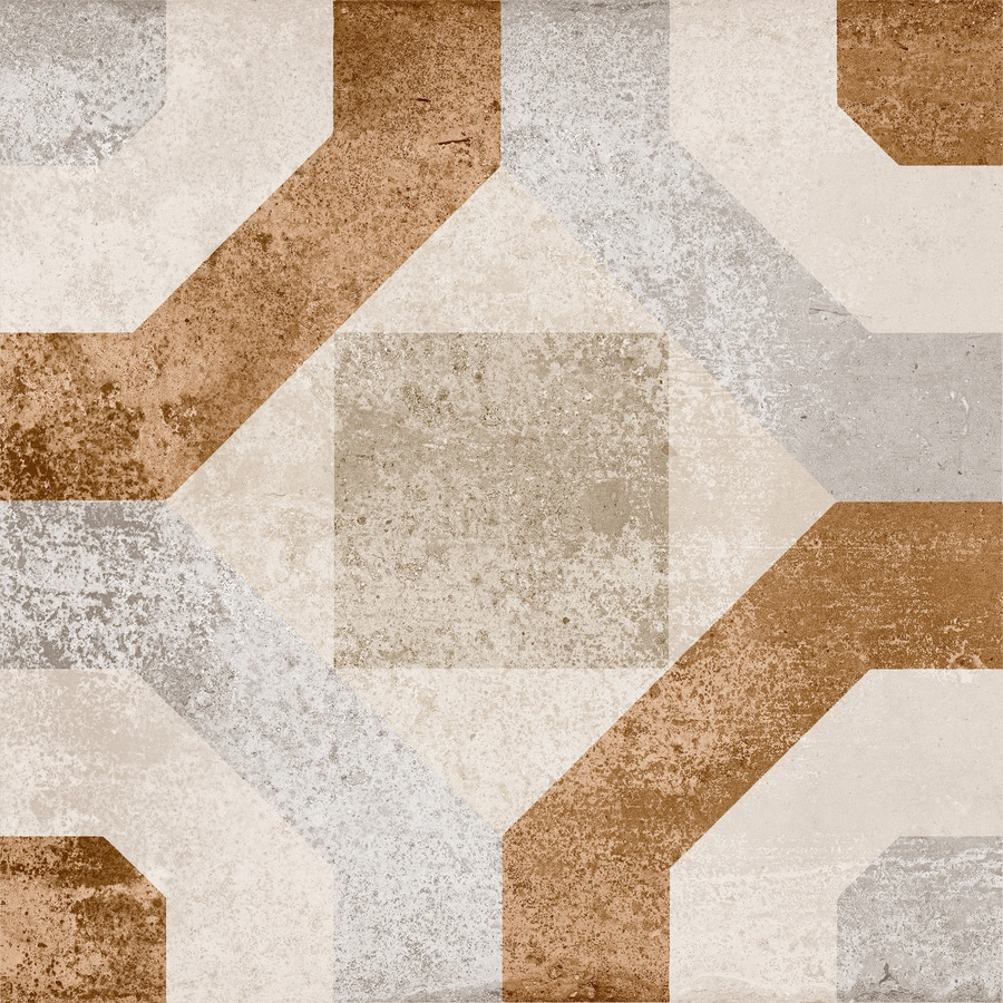 Style Selections Cityside Beige Porcelain Floor and Wall Tile (Common: 12-in x 12-in; Actual: 11.76-in x 11.76-in)