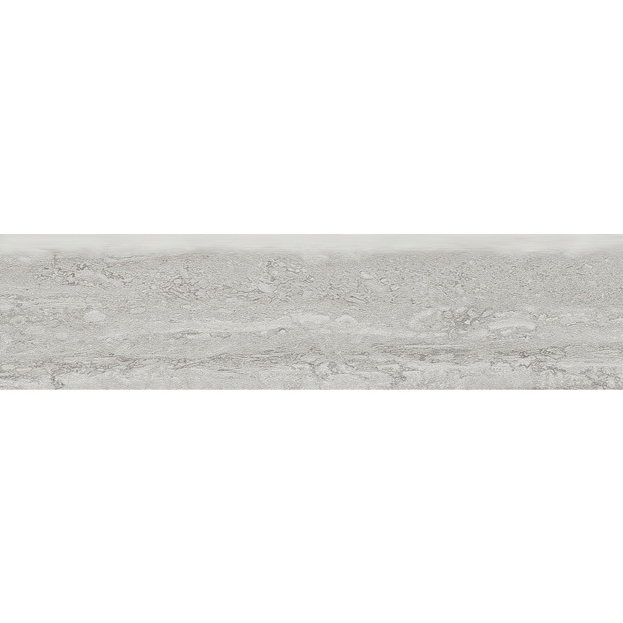 Style Selections Ridgemont Silver Porcelain Floor and Wall Tile (Common: 3-in x 12-in; Actual: 11.76-in x 2.76-in)