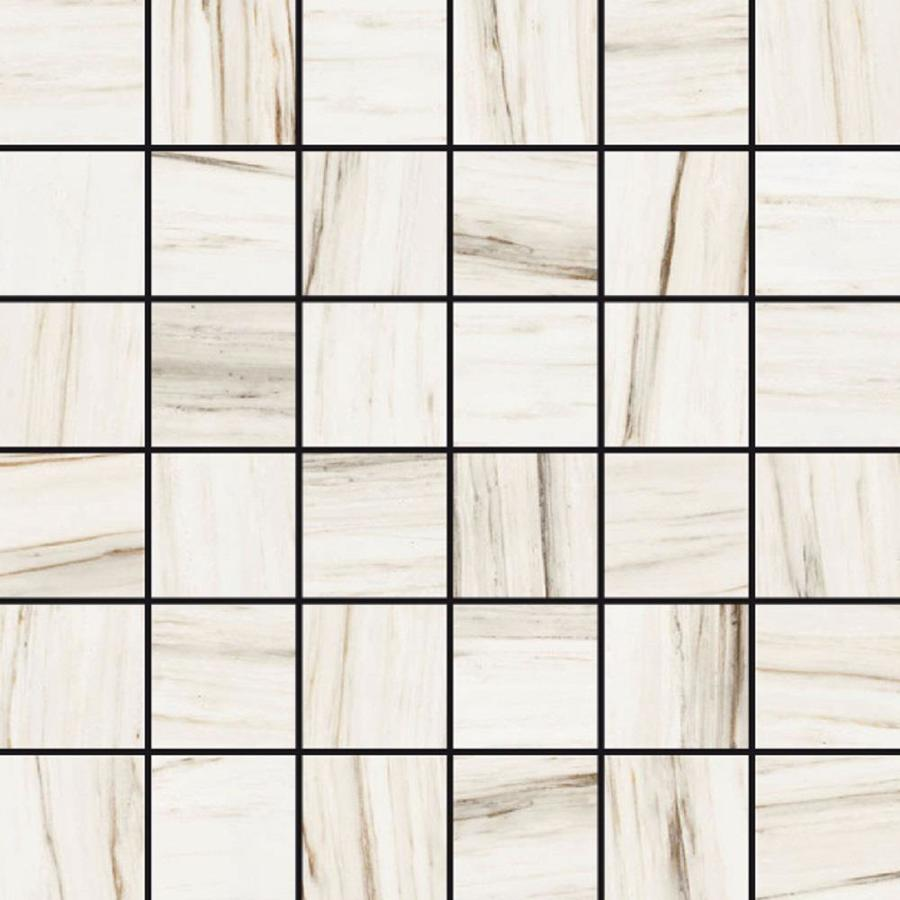 Style Selections Corinth White Porcelain Border Tile (Common: 12-in x 12-in; Actual: 11.76-in x 11.76-in)