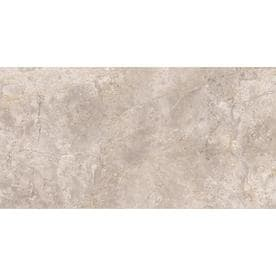 Style Selections Chelsea Cafe 12-in x 24-in Porcelain Travertine Floor and Wall Tile (Common: 12-in x 24-in; Actual: 11.77-in x 23.62-in)