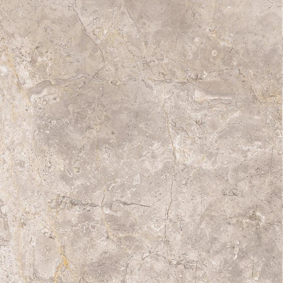 Style Selections Chelsea Brown Porcelain Marble Floor And Wall Tile Common 12 In