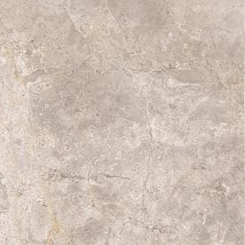 Style Selections Chelsea Cafe 12-in x 12-in Porcelain Marble Floor and Wall Tile (Common: 12-in x 12-in; Actual: 11.76-in x 11.76-in)