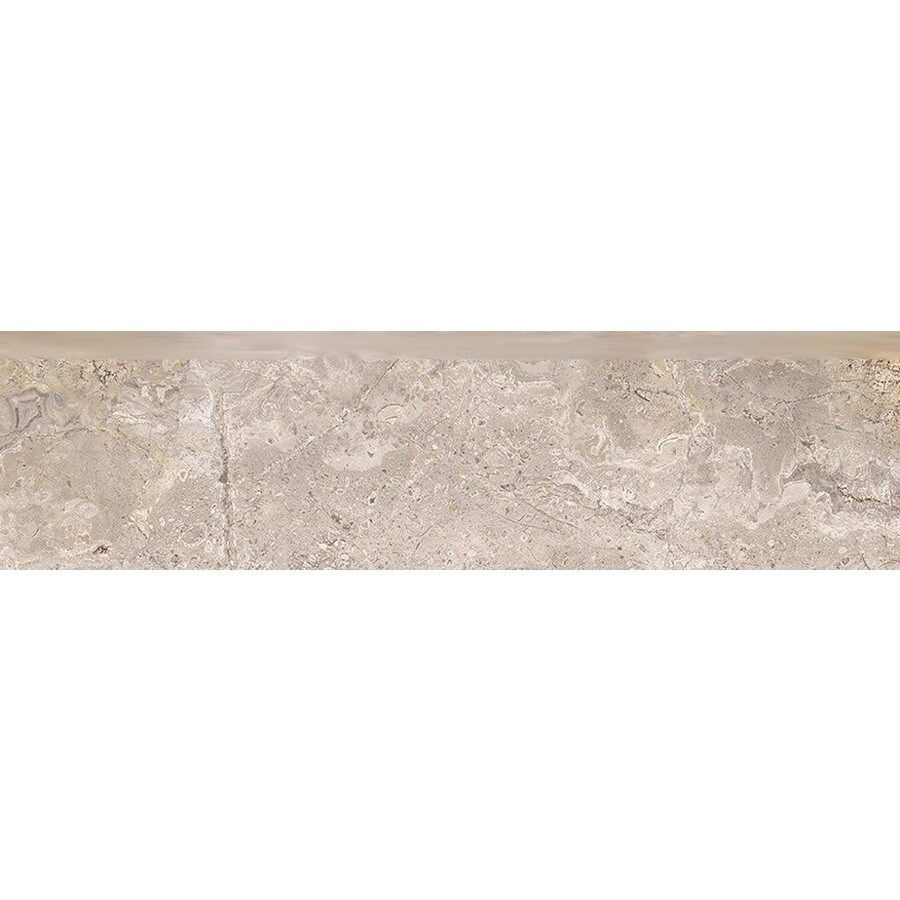 Style Selections Chelsea Brown Porcelain Bullnose Tile (Common: 3-in X 12-in; Actual: 2.76-in x 11.76-in)