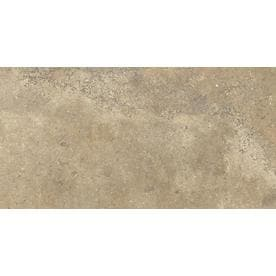 Style Selections Agrippa Noce Porcelain Travertine Floor And Wall Tile Common 12 In