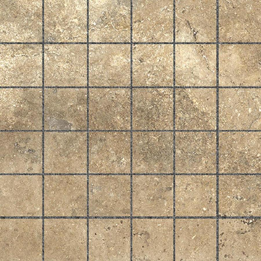 Shop Style Selections Agrippa Noce Porcelain Border Tile (Common: 12 ...