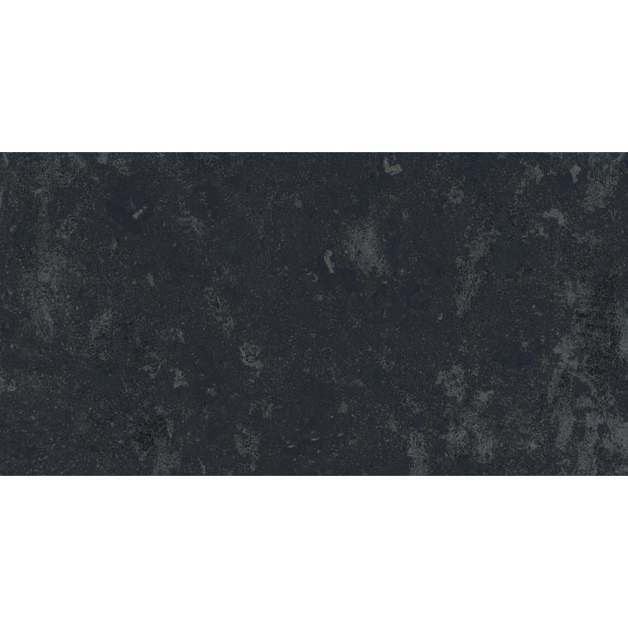 Shop Style Selections Amazon Black Porcelain Slate Floor And Wall - 12x12 slate tile lowes