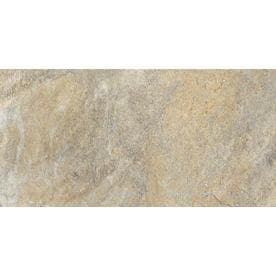 Della Torre Riverdale Sand 12 In X 24 Porcelain Floor And Wall Tile