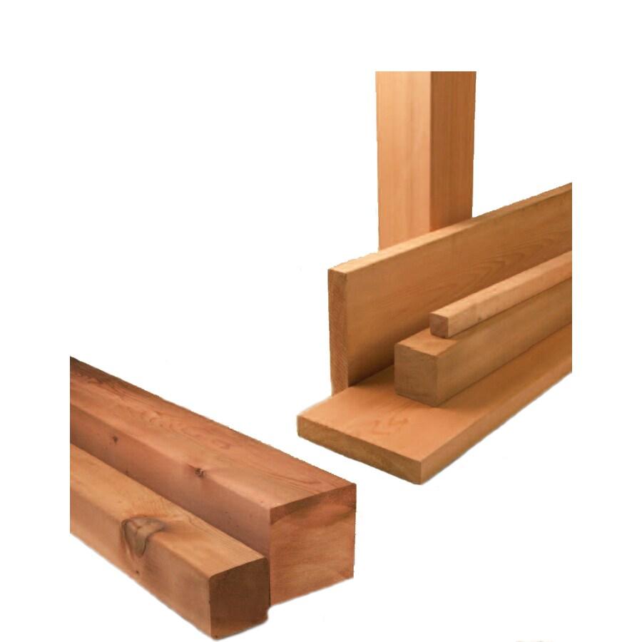 Shop Top Choice Premium Surfaced 4 Sides Cedar Decking Common 2 In