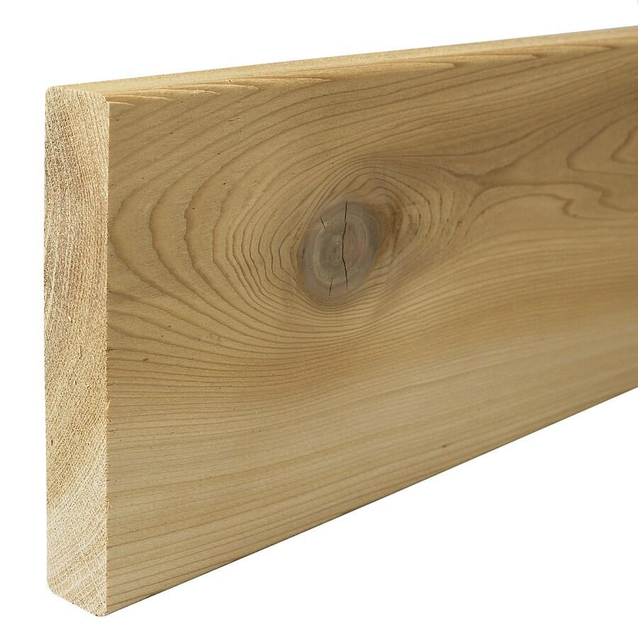 Shop Top Choice Radius Edge Cedar Deck Board At
