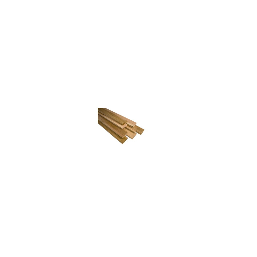 Top Choice Select S4S Cedar Decking (Common: 2-in x 4-in x 8-ft; Actual: 1-1/2-in x 3-1/2-in x 96-in)