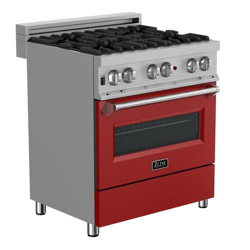 Zline Kitchen Amp Bath Colored Dual Fuel Range Deep Recessed