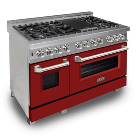 Double Oven Dual Fuel Ranges At Lowes Com