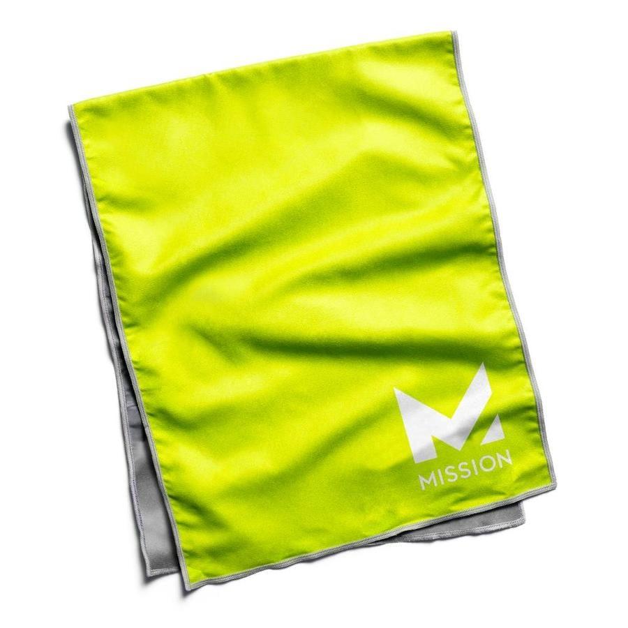 Green Microfiber Towel: Mission HydroActive Microfiber Towel Hi Vis Green At Lowes.com