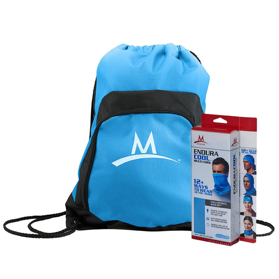 Mission EnduraCool Blue Polyester Cooling Towel