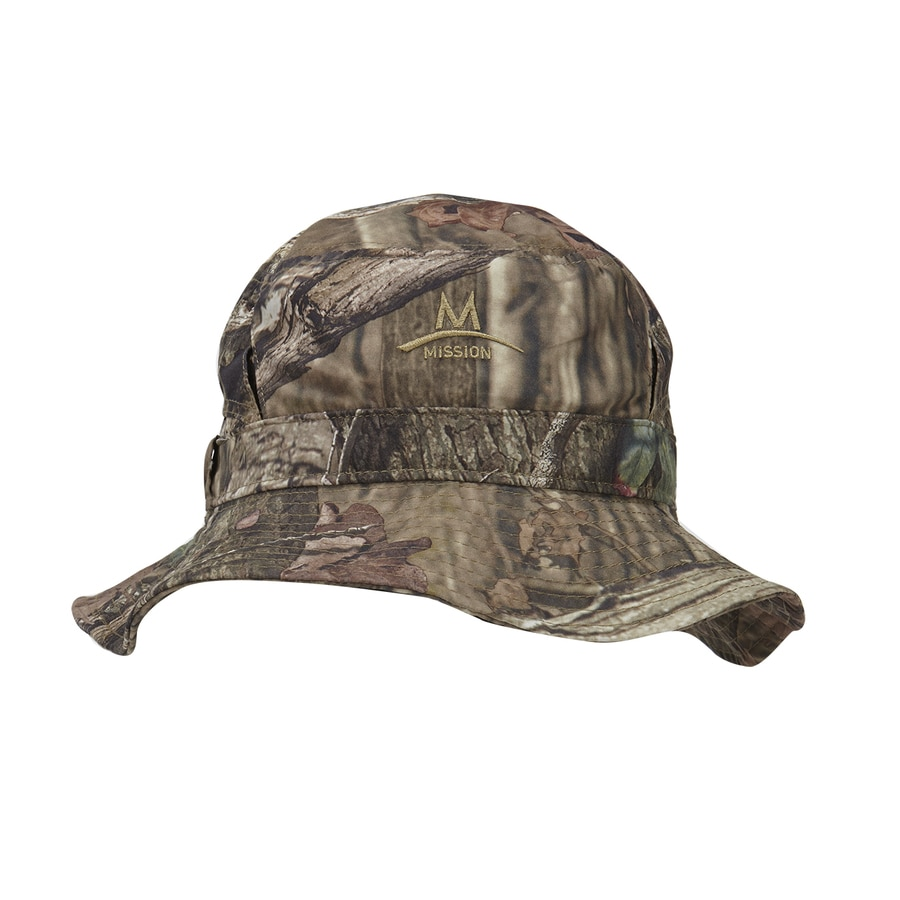 Mission One Size Fits Most Unisex Mission Mossy Oak Polyester Flap Cap