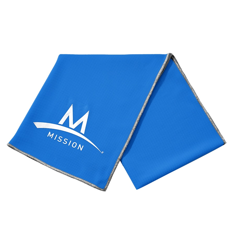 Mission Blue Polyester Cooling Towel 103748 Deals