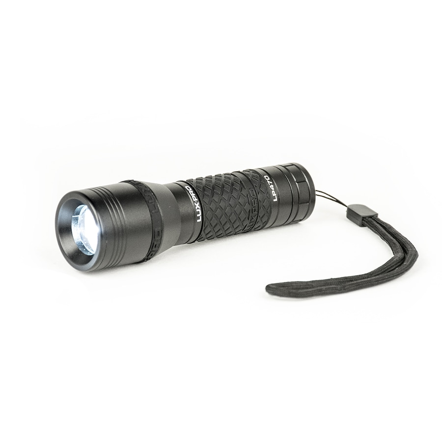 Lux-Pro 210 Lumens Led Handheld Battery Flashlight Battery Included