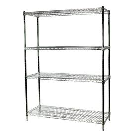 Metal Wire Shelving | Freestanding Shelving Units At Lowes Com