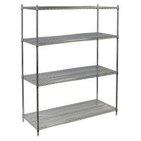 storage concepts 74 in h x 60 in w x 24 in d - Wire Shelving Units