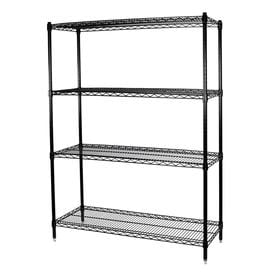 24X24X72 Wire Shelving | Freestanding Shelving Units At Lowes Com