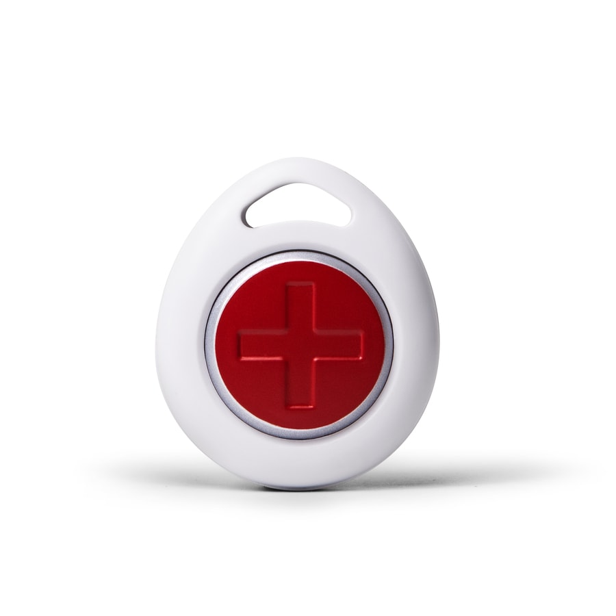 Iris Next Gen White Wireless Home Automation Care Pendant