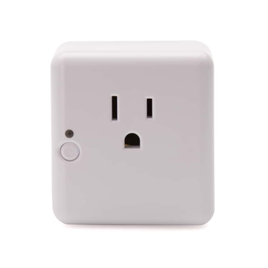 Iris 120-Volt White Smart Plug Works with Amazon Alexa